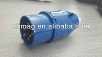 8 pins industrial plug socket for crane 10A