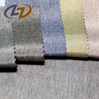 Bulk Pu Coated Woven Textured Polyester Fabric For Windbreaker