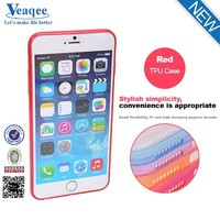 Veaqee Ultra Thin Transparent PC + TPU Hybrid Hard Dual Color Case for iPhone 6 4.7