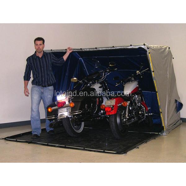 en plein air moto abri pliable moto accueil moto couverture de tente garage toit et abris d. Black Bedroom Furniture Sets. Home Design Ideas