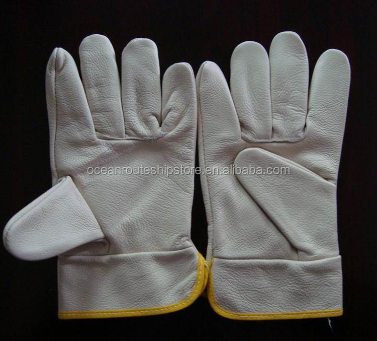 CALF SKIN WORKING GLOVES-IMPA CODE 190112