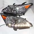 For Lexus ES350 EX350 2007-2012 Year LED Head Plus Bumper assembly