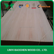 rotary cut natural red oak plywood for furniture and decoration