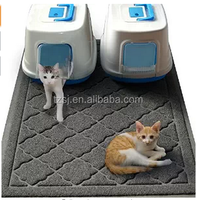 Pet Dog Cat Puppy Dish Bowl Food Water Placemat /cat litter mat/cat toilet mat with large size