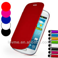 Smart Slim Wallet Leather Case Cover For Galaxy S3 Mini I8190