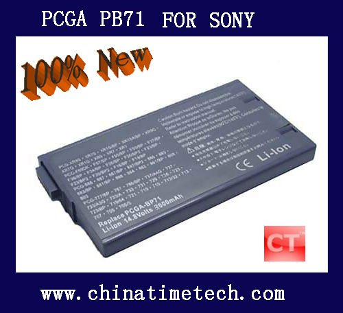 Power Charger Replacement Battery For Sony PCGA BP71