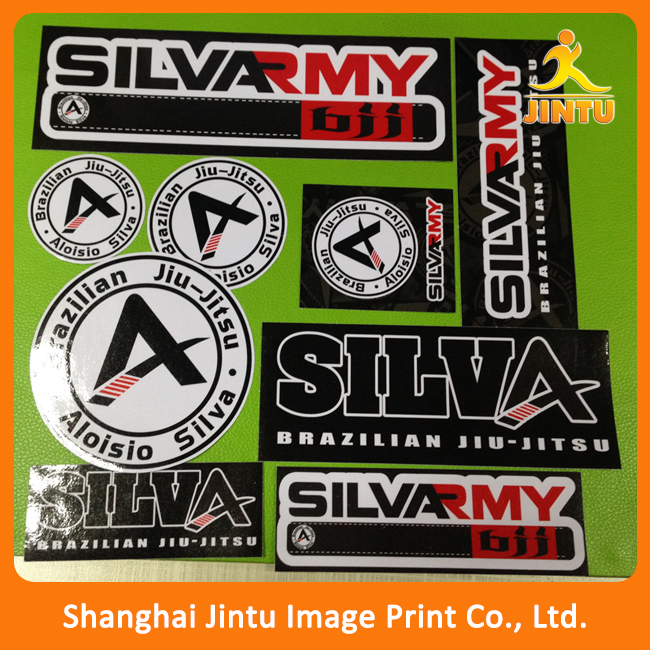 Cheap custom die cut 3M vinyl car windshield sticker wholesale