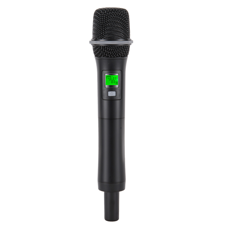 China Factory eight channels performance wireless microphone handheld
