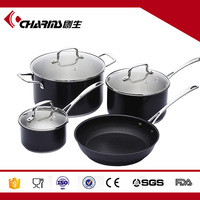 Induction 7 pieces Stainless Steel dishwasher safe Cookware set