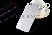 Crystal Clear Transparent Soft TPU Case 0.3mm Cell Phone Cases Cover for Samsung Galaxy S3 mini i8190 for Samsung Galaxy S4 mini