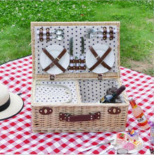 cheap natural wicker wholesale picnic basket