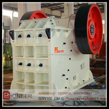 shanghai Pioneer jaw crusher/ soil jaw crusher / stone mining crushing machine
