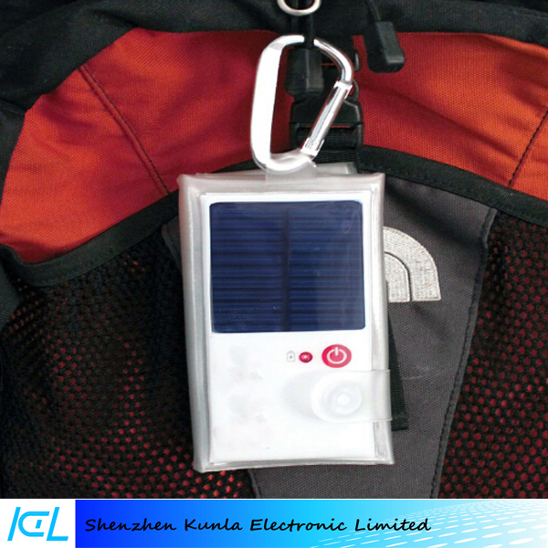 Outdoor Solar Waterproof Inflatable Folding Camping Lamp