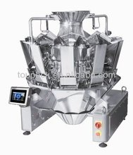 IP65 CE PLC control 10 heads multihead combination weigher for potato flakes packaging machine