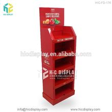 HIC fashion shop fitting display for fruit juice, promotional cardbord fruit juice display