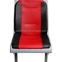 Fabric PVC Leather Material Luxury Bus