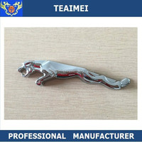 Jaguar logo chrome car back emblem sticker car emblem badges