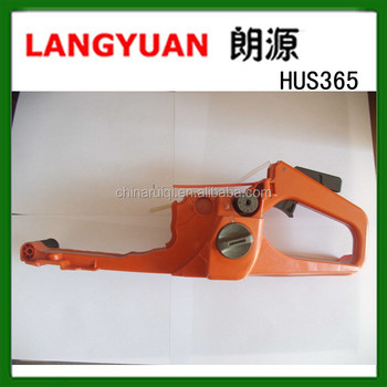 65.1cc HUS365 chainsaw spare parts rear handle