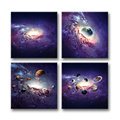 Nebula Giclee Painting Art Decor Customized Canvas Photo Printing for Living Room Bedroom Decoration