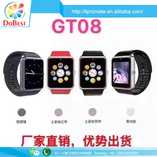 The Hottest Bluetooth Smart Watch Mobile Phone GT08 With V 3.0 Bulethooth MTK6260A
