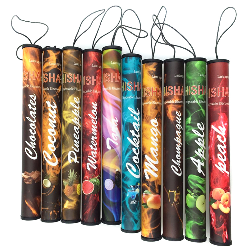 electronic cigarette hookah e shisha pen paypal 500 puffs disposable No nicotine kopen 30 flavors