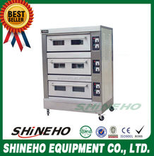 B016 3 Layer 9 Trays chicken rotisserie gas oven/multi-functional convection oven