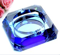 New design K9 Crystal Ashtray Wholesale In Pujiang