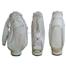 GBS-32 Custom White Color China manufacturer custom golf bag