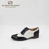 black and white hot-selling flat lady comfort shoe fashion lady dress shoes
