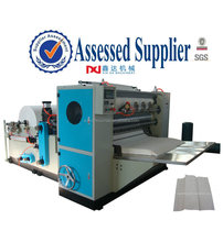 disposable interfold hand towel paper machine