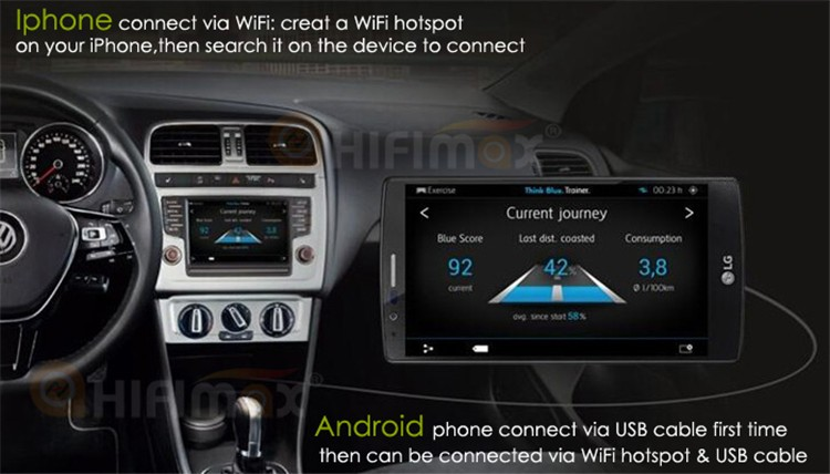 Hifimax Android 6.0 double din car dvd for peugeot 301 car dvd gps/peugeot 301 car gps navigation