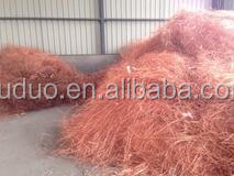Millberry Copper wire scrap 99.99% /copper cathodes