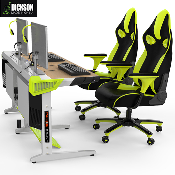 Dickson modern beautiful computer desk with high technique ABS engineering plastic