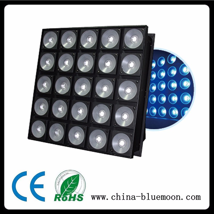 Led Effect Light 25pcs DMX RGB Led Matrix