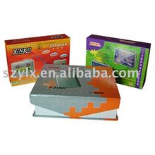 2012 high quality paper board coloring boxes printing with 300gsm glossy paper