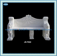Hand Carved Cheap Decorative White Stone Outdoor Seating