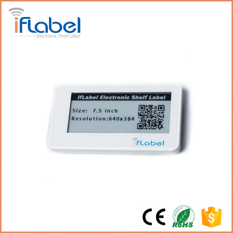 BLE electronic shelf label for supermarket