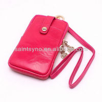 13022 Soft leather case for iphone 4S