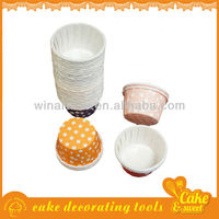 Factory price greaseproof paper acrylic cupcake stand