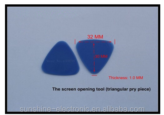 SXA002 30mm grey plastic pry bar opening tools crowbar opening tools for cell phone tablets screen case