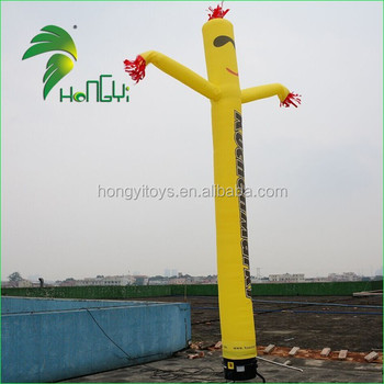Competitive Price Durable Air Waving Sky Tube / Floating Advering Inflatable Rolling Man