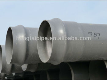 upvc pipe for water supply DN110mm pressure 10 bar