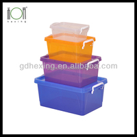 Microsoftware Clear Plastic Food Containers with Lids