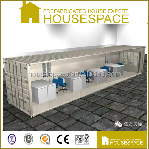 Luxury Fireproof Decorated mobile portable container office for sale