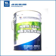 High elastic Green color PU coating for concrete roof