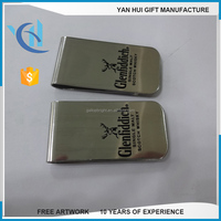 New arrival money clip with logo custom metal money clip wholesale