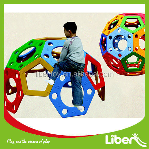 Kids LLDPE Outdoor&Indoor Playground Park Equipment OF Climbing Sturucture Wall Frame,Climbing Ball Toys LE.PP.001