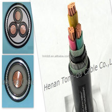 Copper core low voltage power cable