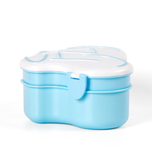 airtight plastic food container for kids in shcool picnic