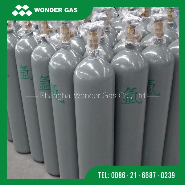 Reasonable Price 10M3 50L Capacity Argon Cylinder For Sale